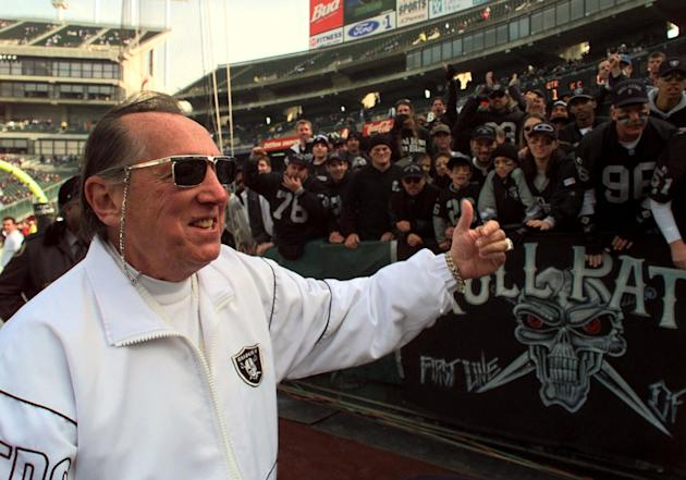 Al Davis. Oakland Raiders owner, 82