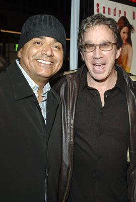 Premiere: George Lopez and Tim Allen at the Hollywood premiere of Warner Bros. Pictures' Miss Congeniality 2: Armed and Fabulous - 3/23/2005