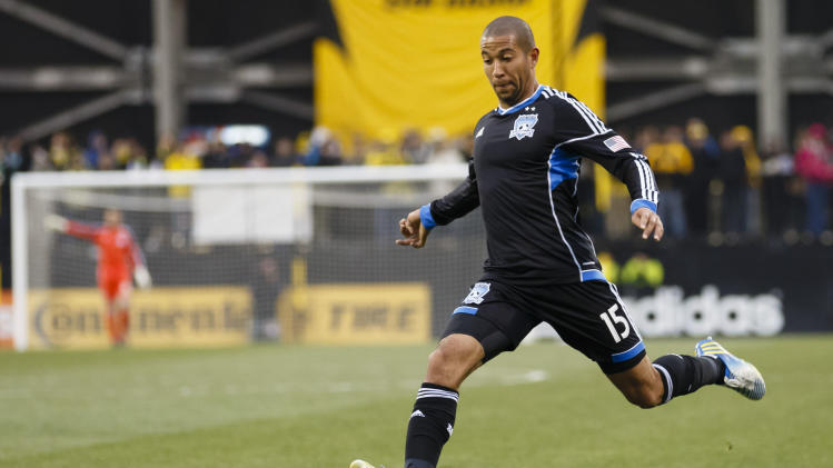 MLS: San Jose Earthquakes at Columbus Crew