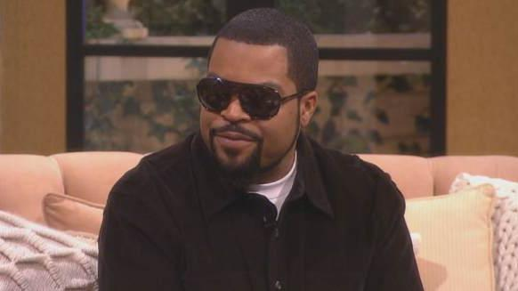 Ice Cube stops by Access Hollywood Live on January 13, 2014 -- Access Hollywood