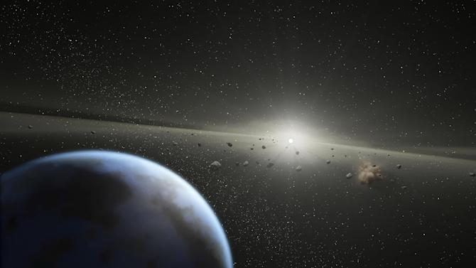 A comet strike is believed to have ended the reign of the dinosaurs 65 million years ago