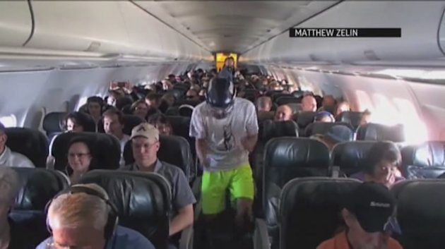 "The FAA is trying to determine if some students violated any rules when they performed a popular dance during a flight from Colorado Springs to San Diego. Members of the Colorado College Ultimate team did the ""Harlem Shake"" in the aisles. (Feb. 28)"