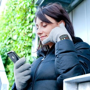 Bluetooth gloves handset