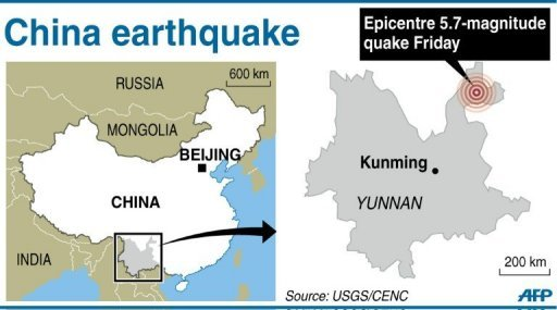 China earthquake