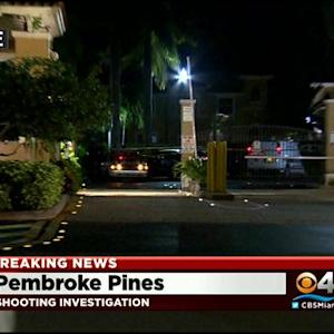 One Man Shot In Pembroke Pines
