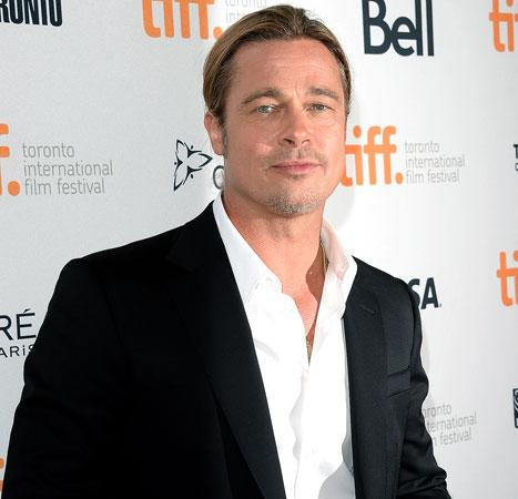 "Brad Pitt: I'd Show R-Rated 12 Years a Slave to My ""Eldest"" Children"