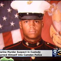 Suspect In Murder Of Marine In Police Custody
