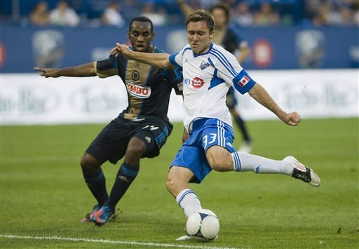 Wenger, Martins lead Impact over Union, 2-0