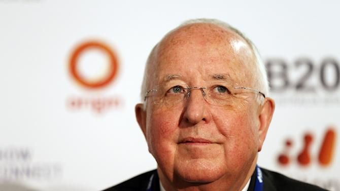 Rio Tinto CEO Sam Walsh, pictured during the B20 Australia Summit in Sydney, on July 18, 2014