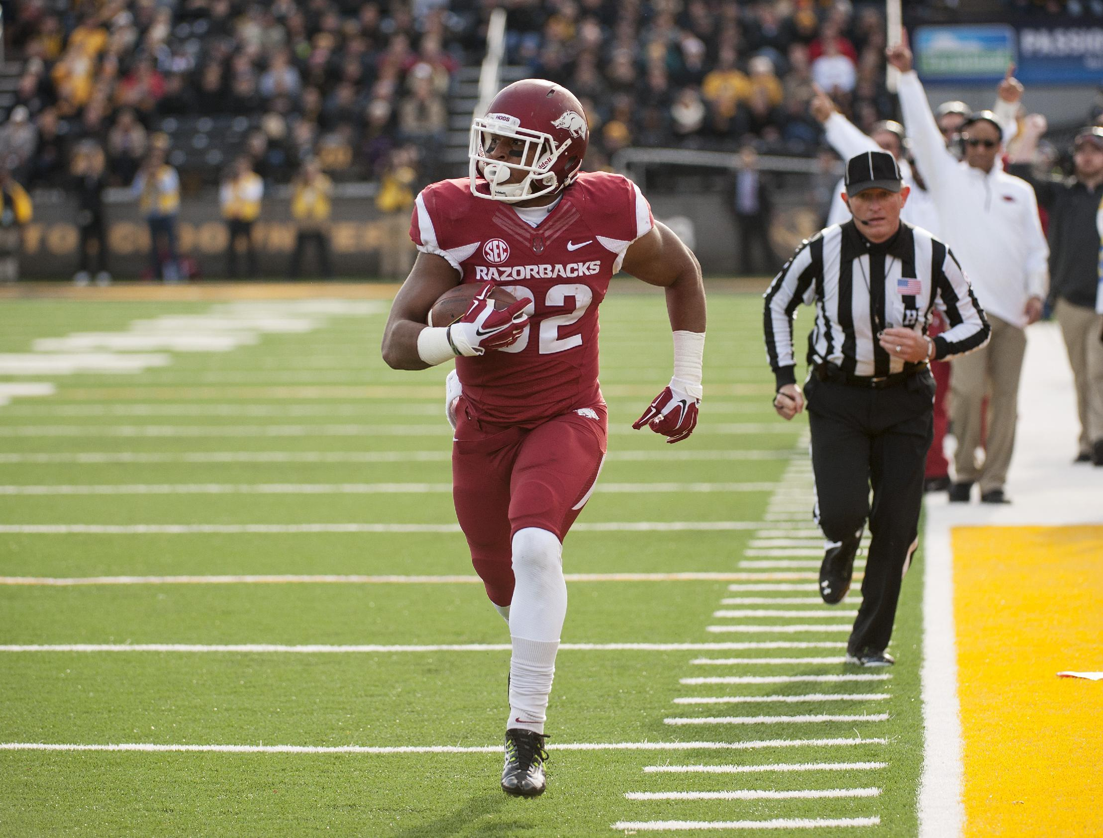 Arkansas RB Jonathan Williams to return for senior year
