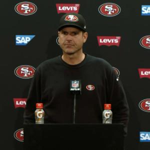 San Francisco 49ers postgame press conference