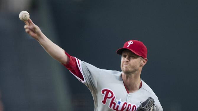 Kendrick, Phillies shut out slumping Braves 4-0