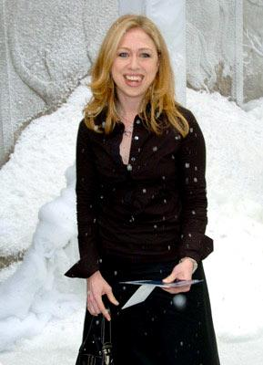Chelsea Clinton at the New York premiere of Twentieth Century Fox's The Day After Tomorrow