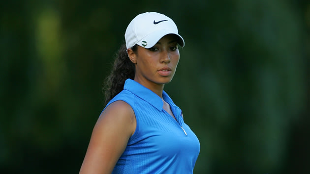 She may be known to most as quot tiger woods s niece quot but cheyenne woods