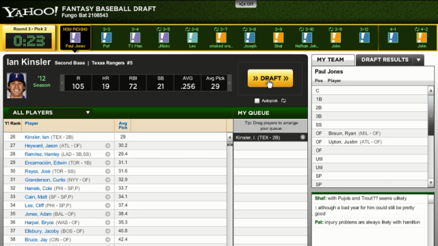 Drafting your Fantasy Baseball League