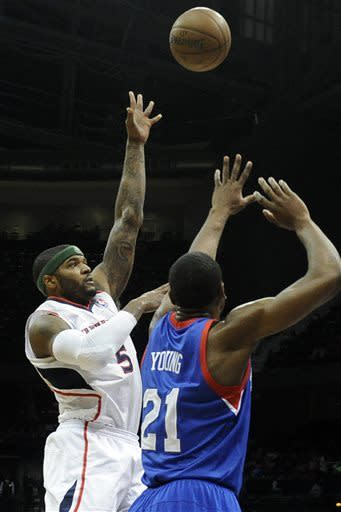 76ers start strong, beat Hawks 101-90
