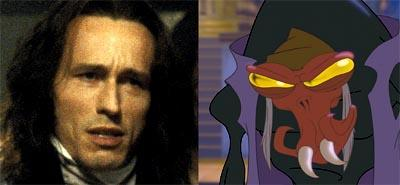 Michael Wincott is the voice of Scroop in Disney's Treasure Planet