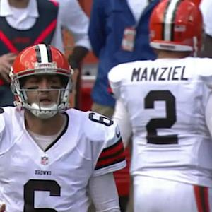 NFL NOW: Will the Browns start Manziel?