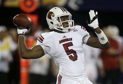 Bridgewater leads No. 20 Louisville by FIU, 28-21