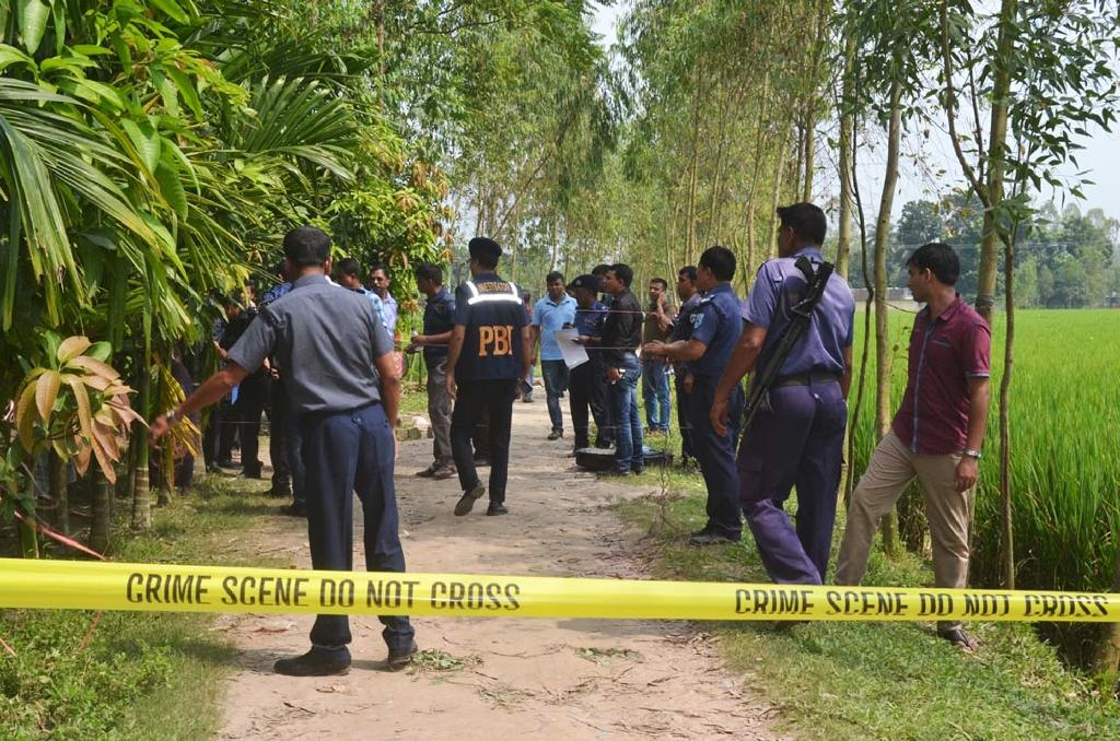 Bangladesh questions two over murder of Japanese