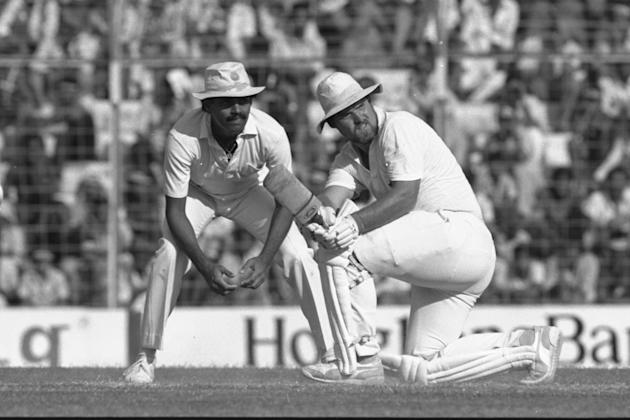 Mike Gatting of England