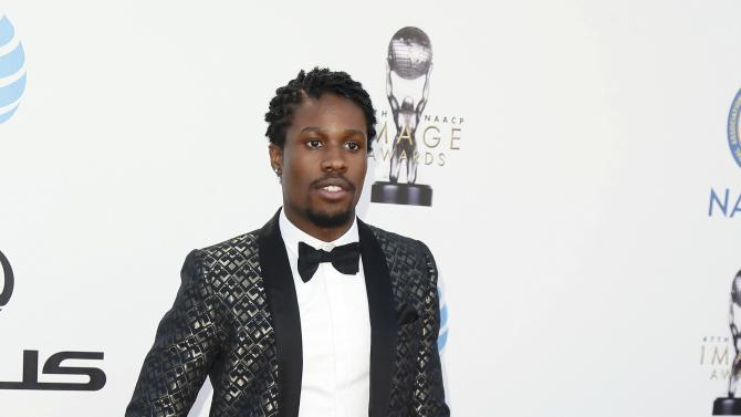 Shameik Moore arrives at the 47th NAACP Image Awards in Pasadena