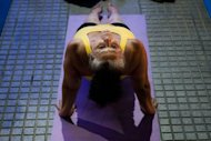 A yoga studio in Washington said Tuesday it will give free classes to anyone who casts his or her ballot in next week&#39;s US elections
