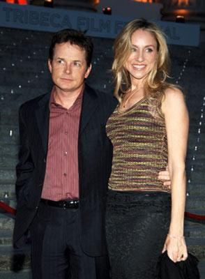 Michael J. Fox and Tracy Pollan Tribeca Film Festival Vanity Fair Party April 20, 2005 - New York, NY