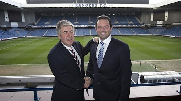 Malcolm Murray, left, believes Craig Mather, right, will push Rangers 'in the correct direction'
