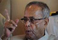 India's Finance Minister Pranab Mukherjee, pictured on June 16, said India plans to unveil new measures on Monday to boost the economy