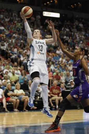 Moore scores 23, Lynx blow out Mercury, 91-59