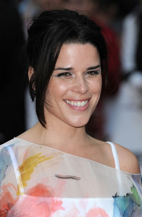 Inglourious Basterds UK Premiere 2009 Neve Campbell