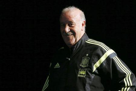 Del Bosque upbeat despite year to forget for Spain