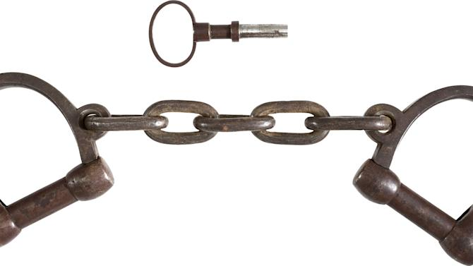 Texas auction house to sell John Brown leg irons