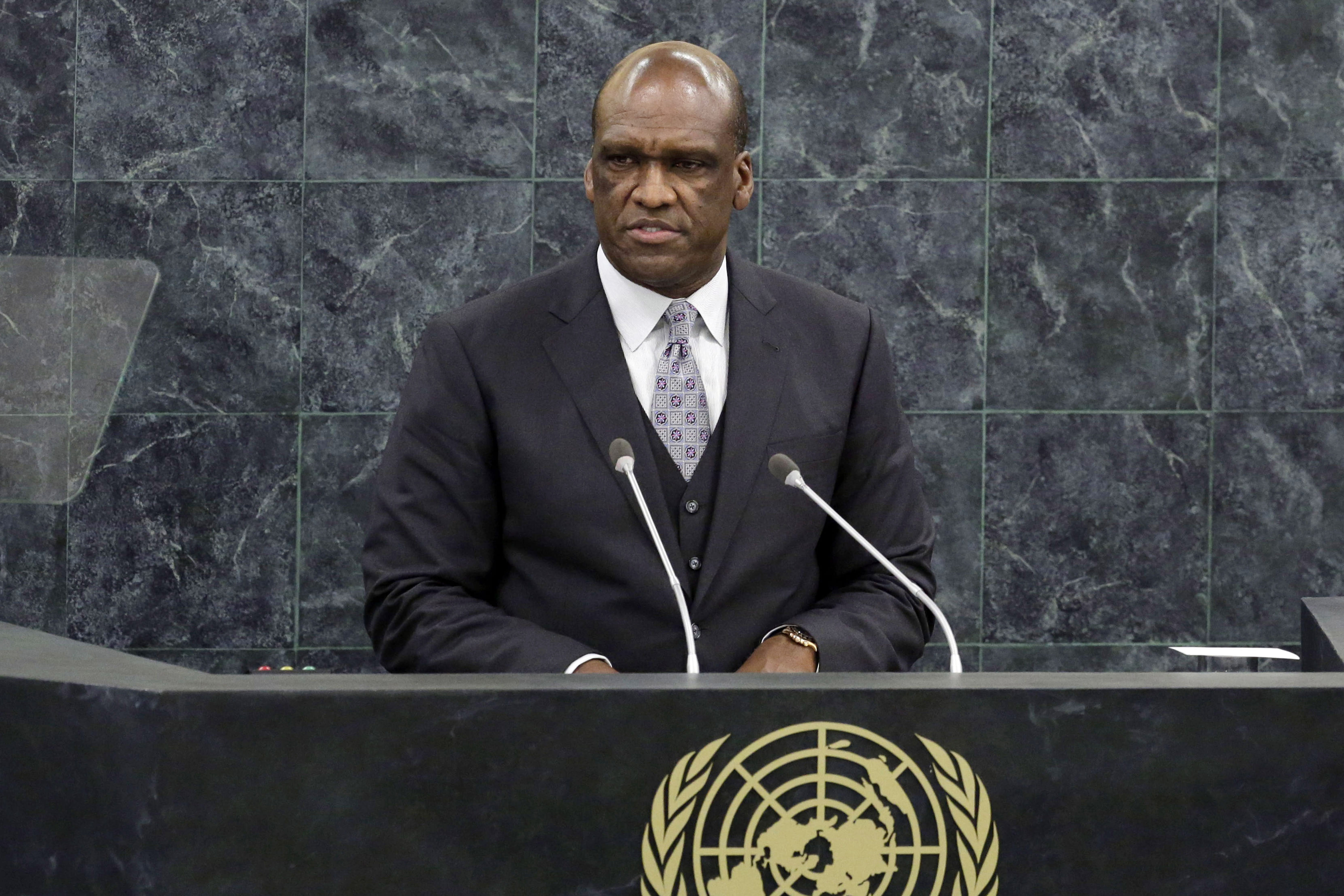 The Latest: UN defends self after charges against ex-GA head