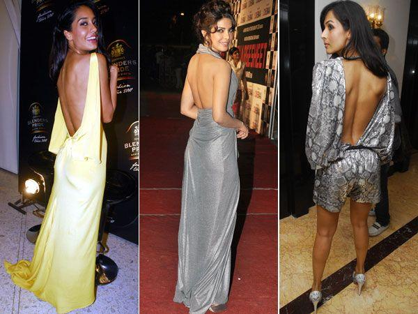 12 B-Town Actresses Who Went Backless
