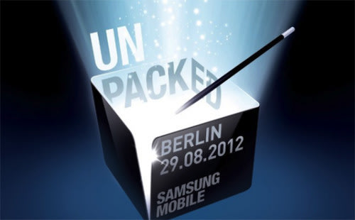 Samsung Mobile Unpacked event confirmed, Galaxy Note 2 anticipated. Samsung, IFA2012, Samsung Galaxy Note, Samsung Galaxy Note 2 0