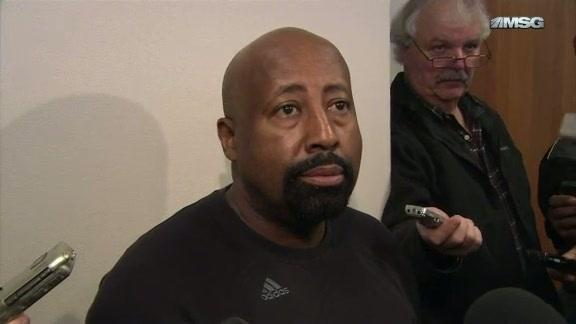 Knicks Practice: Mike Woodson
