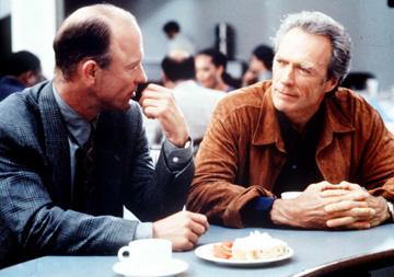 Ed Harris and Clint Eastwood in Sony Pictures' Absolute Power
