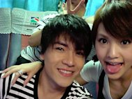 Rainie Yang's night out with Kingone Wang