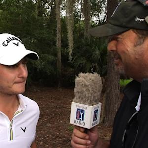 Emiliano Grillo interview after Round 3 of the Web.com Tour Championshipn