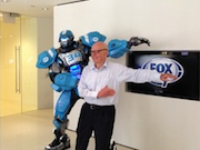 Rupert Murdoch Dances With Robot
