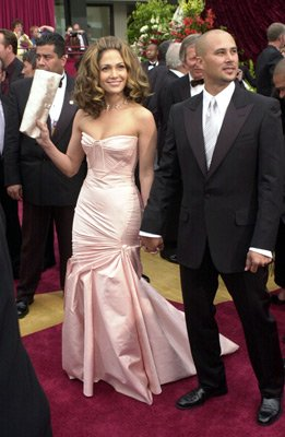 Jennifer Lopez and Cris Judd 74th Academy Awards Hollywood, CA 3/24/2002