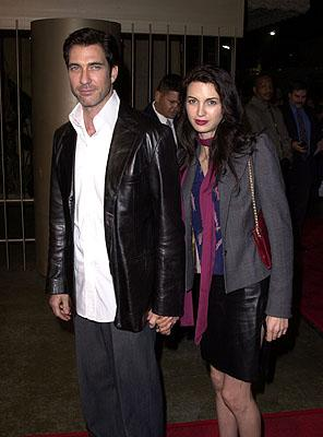 Dylan McDermott and wife Shiva Rose at the Los Angeles premiere of Warner Brothers' The Pledge