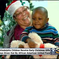 Local Foundation Spreads Holiday Joy To Children In Philadelphia