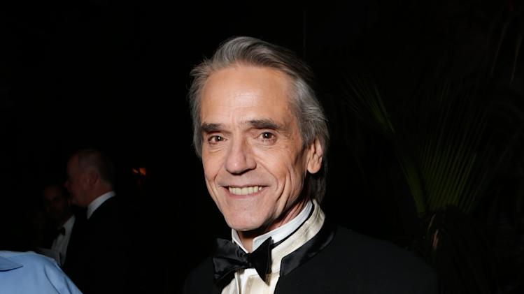 Actor Jeremy Irons attends the Fox Golden Globes Party on Sunday, January 13, 2013, in Beverly Hills, Calif. (Photo by Todd Williamson/Invision for Fox Searchlight/AP Images)