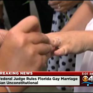 Federal Judge Declares Florida's Ban On Same-Sex Marriage Unconstitutional