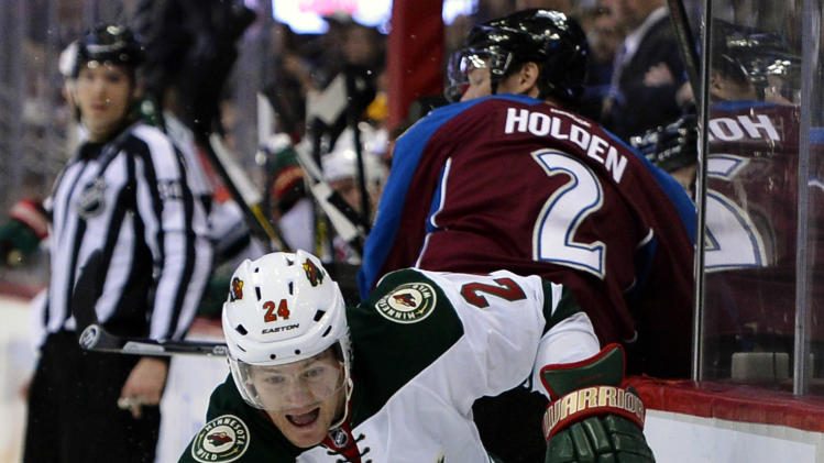 Wild's Matt Cooke gets 7-game suspension from NHL