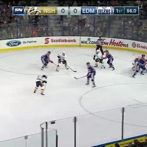 Ben Scrivens Save on Derek Roy (19:05/1st)