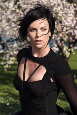 Charlize Theron in Paramount Pictures' Aeon Flux